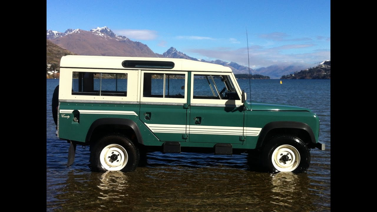 1985 land rover 110 county owners manual