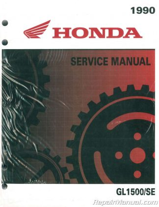 1988 honda goldwing owners manual