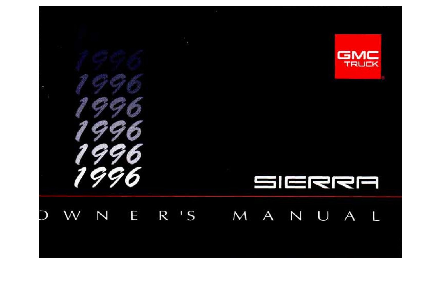 2002 gmc sierra owners manual