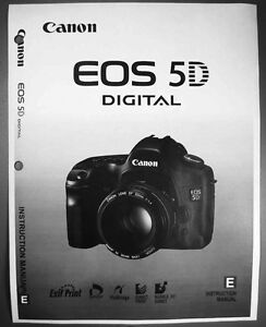 canon eos 5dsr user manual